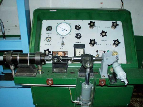 Оборудование для испытания агрегатов